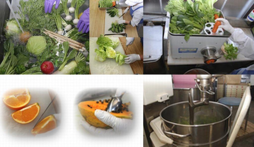 『自然百彩』は衛生的な国内の工場で確かな品質管理のもと生産しています